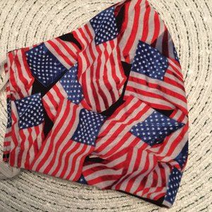 2/$30  USA American Flag Adjustable Mask